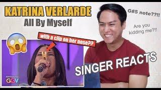 Katrina Velarde - All By Myself | GGV Birit Challenge [SINGER REACTS]