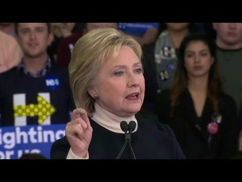 Clinton attacks Wall Street in concession speech