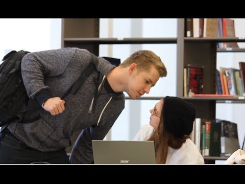 Trying To Kiss Girls In The Library video