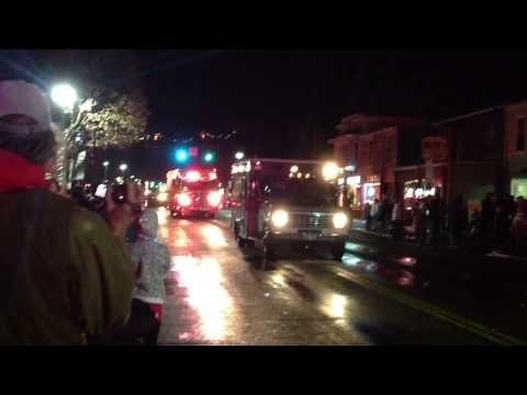 Odessa Fire Department @ the Watkins Glen Winter Carnival Parade. 12/7/12