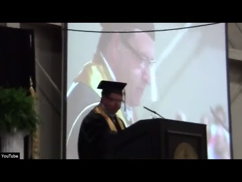 Grad Speech Infuriates Atheists
