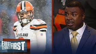 Baker can't lead the Browns through turmoil of a season — Brian Westbrook | NFL | FIRST THINGS FIRST