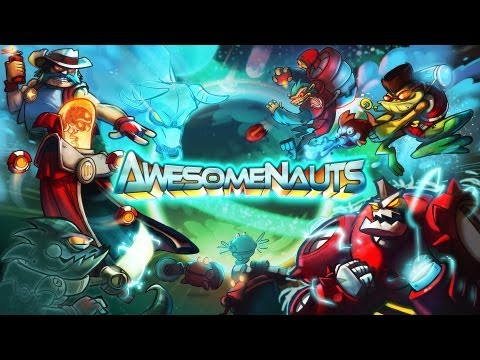 Awesomenauts Cooperative Gameplay [ PC HD ]