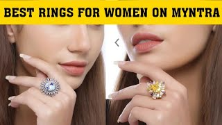Beautiful Rings for women on Myntra with Price   Studio Voylla   Low Cost.