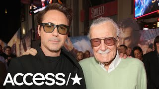 Stan Lee Dies At 95: Robert Downey Jr., Hugh Jackman & More Honor Marvel Comics Icon | Access