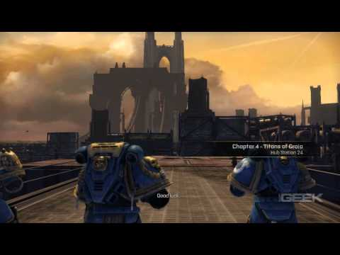 Warhammer 40.000: Space Marine Video Review