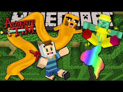 Minecraft: Adventure Time Magic Mans Trap Trapped in Twilight Forest Episode 8
