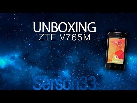 Unboxing - ZTE V765M (Blade G)