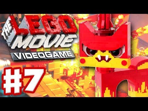 Search for The LEGO Movie Videogame - Gameplay Walkthrough Part 7 - Mean Unikitty! (PC, Xbox One, PS4, Wii U)