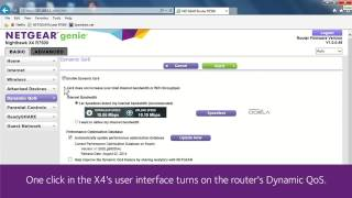 NETGEAR Nighthawk X4 Smart WiFi Router R7500 with Dynamic QoS Demonstration   YouTube 720p