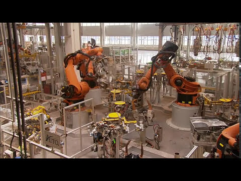 BMW plant Dadong in Shenyang China