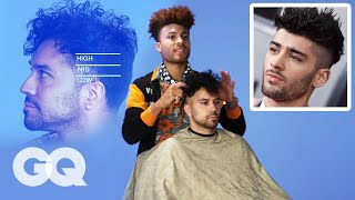 Zayn Malik's High Fade Haircut Recreated by a Master Barber | GQ