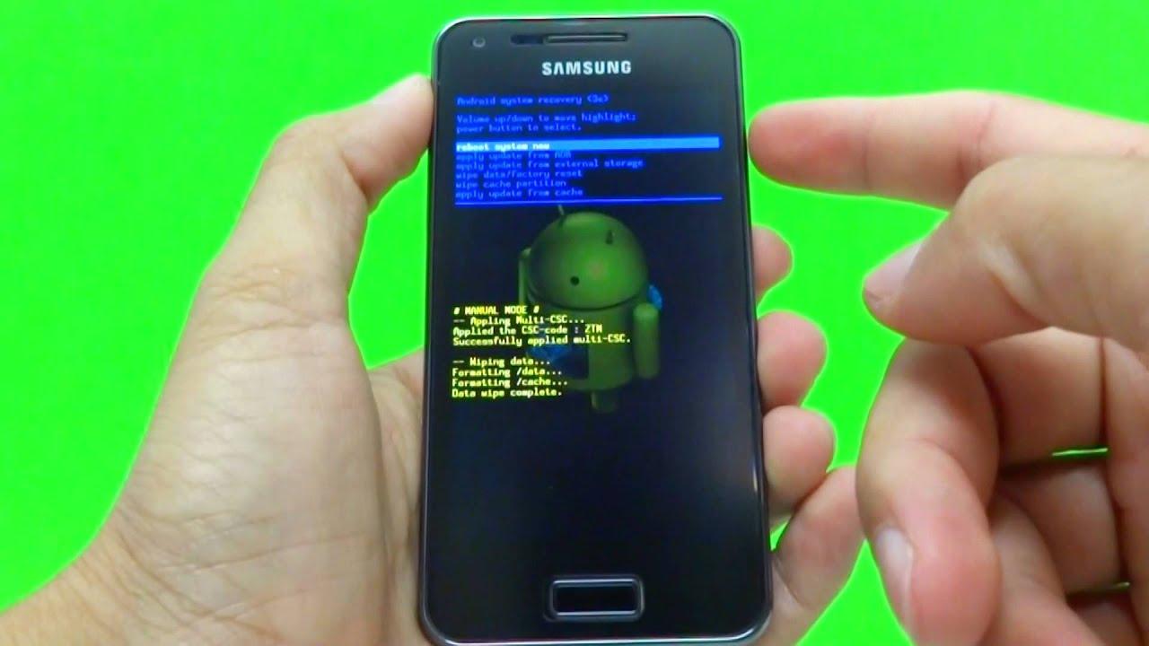Samsung galaxy s4 как сделать полный сброс