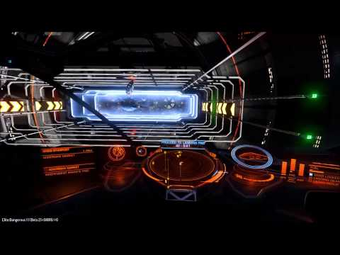 Elite: Dangerous - unexpected item in the docking area