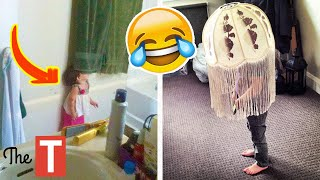 20 Kids Who Are Absolutely Terrible At Hide And Seek