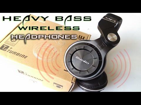 Best Wireless Headphones Under $30 - Bluedio T2+ Headphones - Unboxing And Review