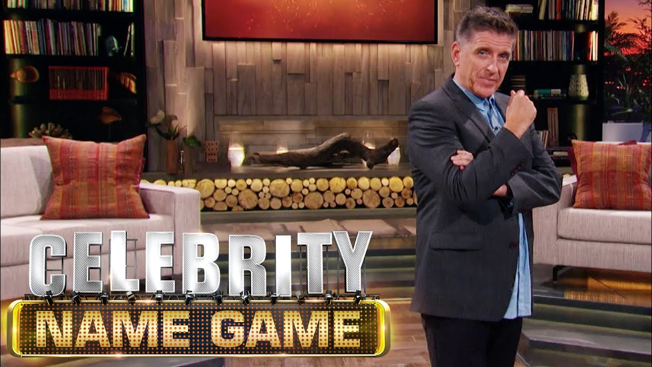 Celebrity Name Game With Host Craig Ferguson - YouTube