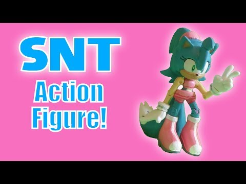 Unboxing an SNT Action Figure!
