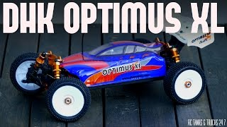DHK OPTIMUS XL 1/8 Buggy - Unboxing and In-Depth Look