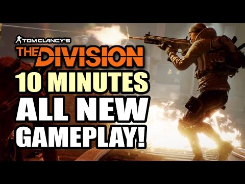 Tom Clancy's The Division NEW GAMEPLAY Interview: Map Size, Customization & Dark Zone