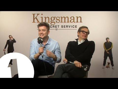 4MOF - Colin Firth & Taron Egerton from Kingsman