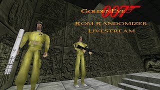 GoldenEye 007 N64 - Full Playthrough Livestream - ROM Randomizer #4