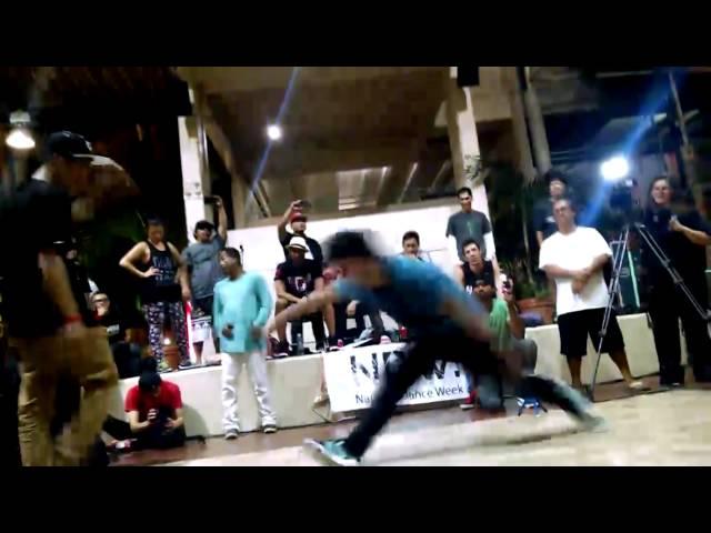 National Dance Week Hawaii: Hip Hop Culture Day Final B-Boy Battle