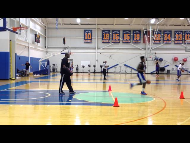 Iman Shumpert At Practice - December 30