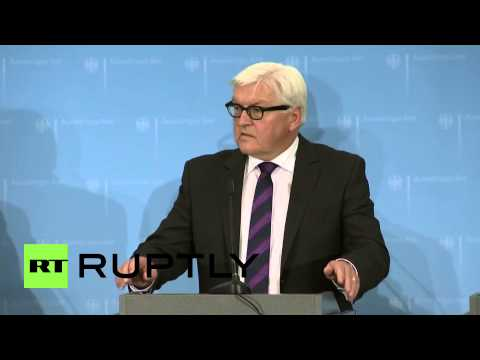 Germany: Foreign ministers agree on E. Ukraine ceasefire