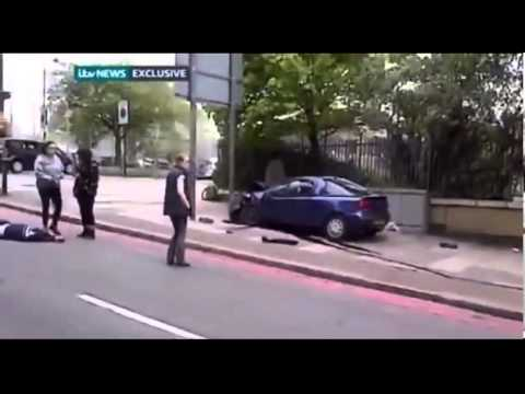 London woolwich machete attack footage killer Terrorist Attack 2013 (Stop this Violence!)