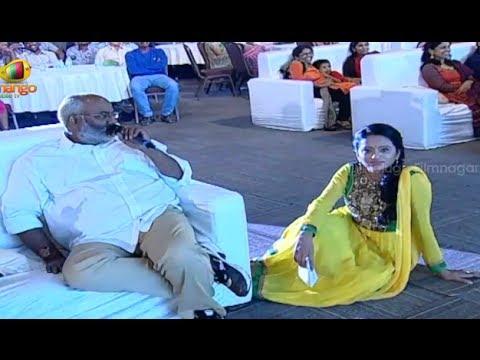 MM Keeravani Mocking Anchor Suma @ Oohalu Gusagusalade Audio Launch