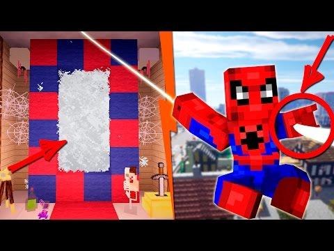 Как сделать портал в мир человека паука