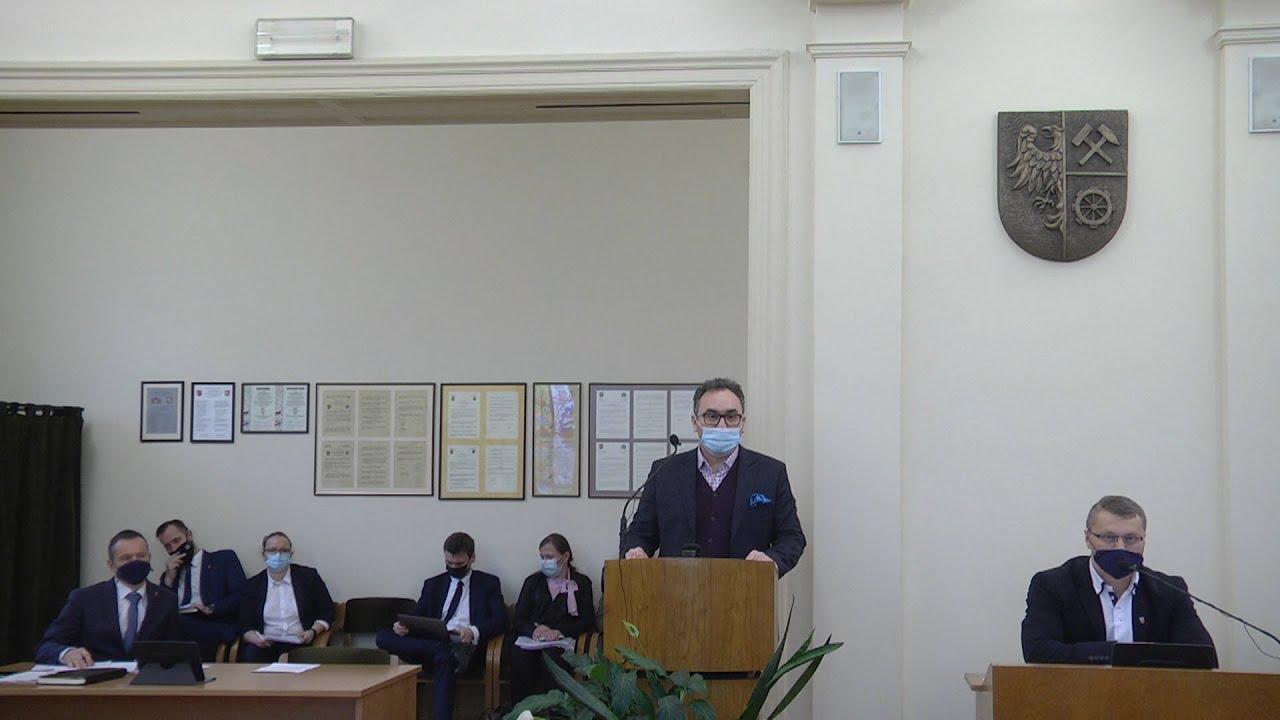XXXVI sesja Rady Miejskiej, część I