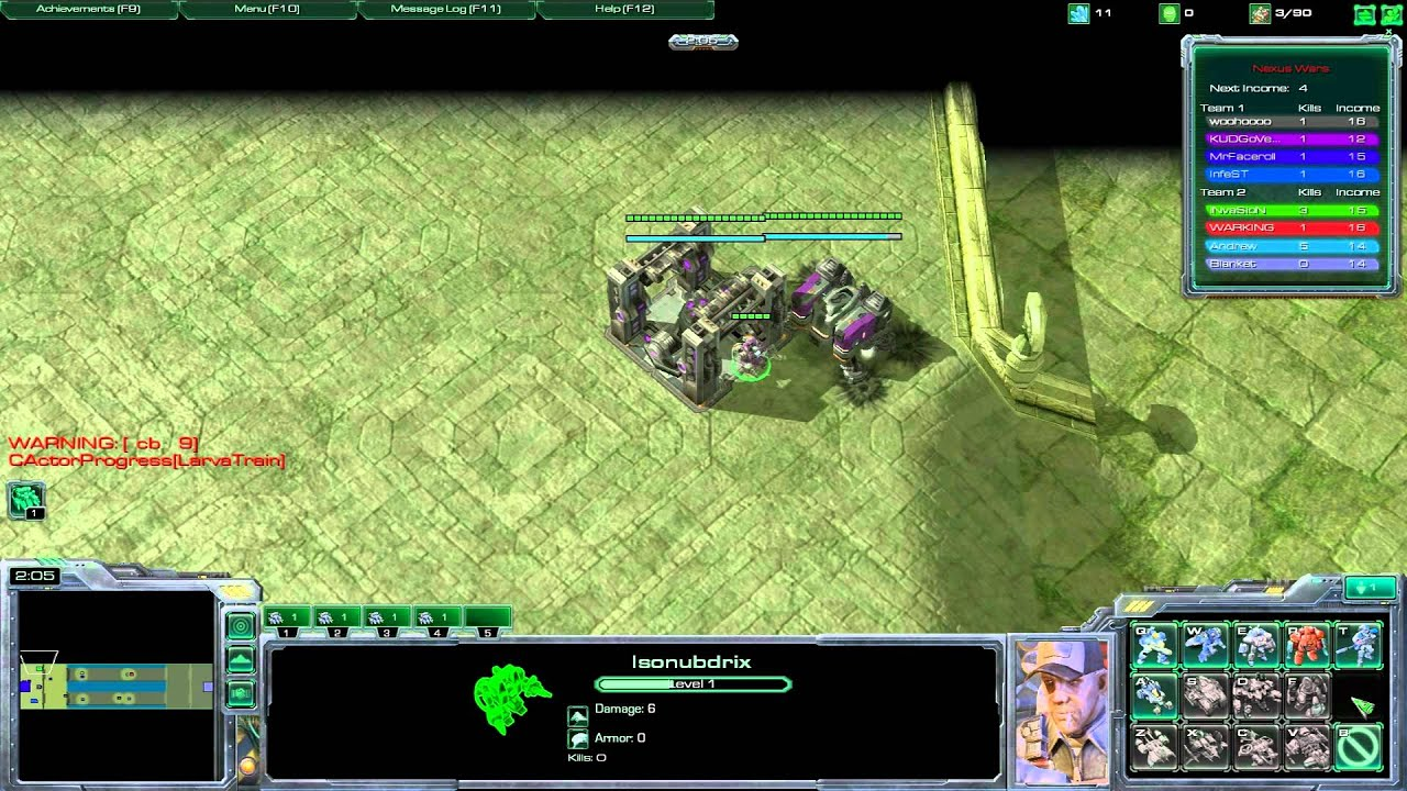 how to create a custom game starcraft 2