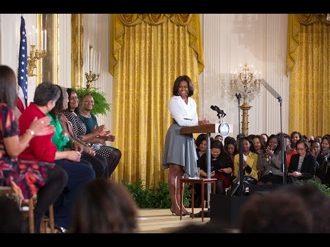 "The First Lady Speaks at ""Celebrating Women of the Movement"" Event"