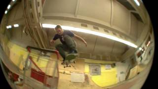 Filip Kisin & Juraj Špoljar in Warehouse skatepark