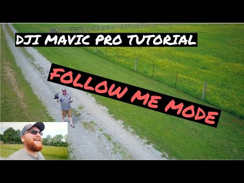 DJI Mavic Pro Tutorial - FOLLOW ME MODE - Best Mode for Vlogging