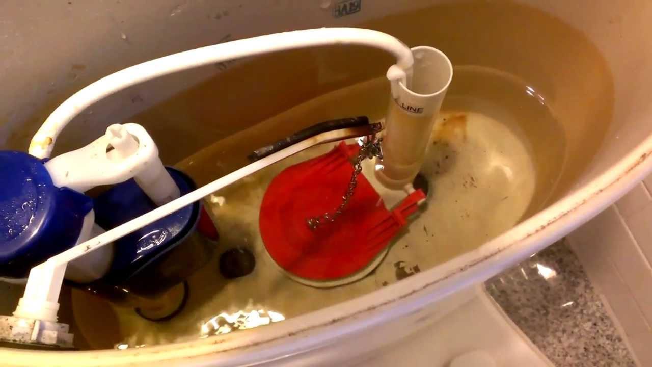 Como reparar un inodoro que gotea youtube for El inodoro que te lava