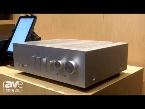 CEDIA 2014: Yamaha AV Showcases Integrated Amplifier A-S Series