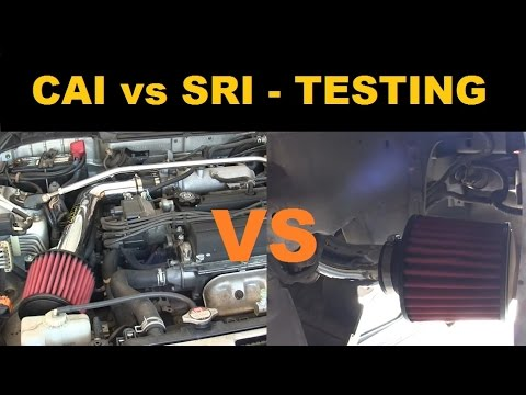 Cold Air Intake Vs Short Ram Testing Summary Project Integra - Acura integra cold air intake