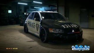 Need For Speed 2015 | Lancer EVO | Wraps & Visual Customization | Police VBPD