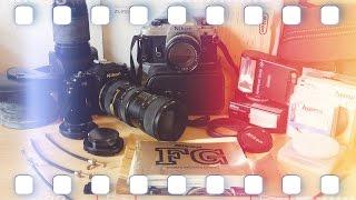 Nikon FG Haul - Analog Kamera Unboxing | Flanell, Kameras & Film