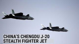 China unveils Chengdu J-20 stealth fighter jet
