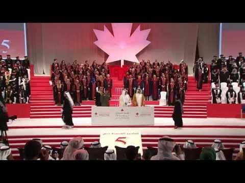 Canadian University Dubai 5th Graduation Ceremony CUD