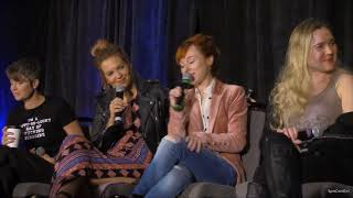 CharCon Rachel Miner Ruth Connell Kim Rhodes Briana Buckmaster FULL Panel 2018 Supernatural