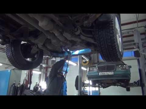 Замена катализаторов, замена гофры на авто  Chevrolet Captiva .Замена катализатора в СПБ .