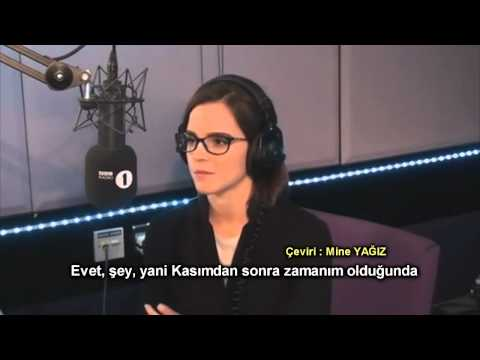 Emma Watson İstanbul'u Görmek İstediğini Söylüyor - BBC Radio 1 - Altyazılı