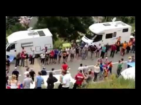 Funny Videos Tripped at the Tour de France