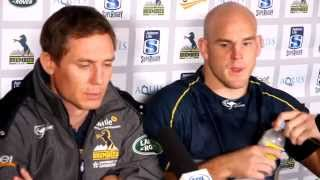 Brumbies vs Cheetahs press conference | Super Rugby Video Highlights