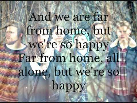 Of Monsters and Men - From Finner lyrics on screen